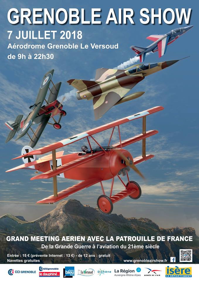Grenoble Air Show 2018