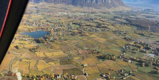 Mosaïque de couleurs... le vignoble des vins de Savoie